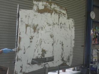 ナイトライダー  トランザム ボンネット板金塗装 前篇画像5