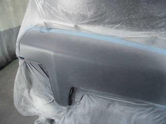 スバル サンバー フロントパネル鈑金塗装画像5