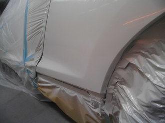 ホンダCR-Z リアフェンダー鈑金塗装画像5