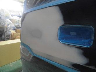スズキワゴンR バックドア鈑金塗装画像3