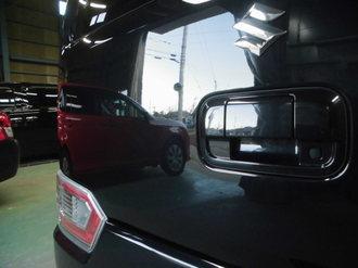 スズキワゴンR バックドア鈑金塗装画像6