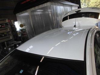 トヨタアクア 社外サンルーフ取り付け画像1