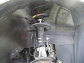 トヨタプリウス車高調取付画像2